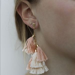 Ettika Day Dreamer Tassle Earrings - NWOT